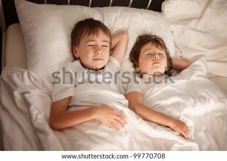 Images - Sleeping Sister Fun Brother