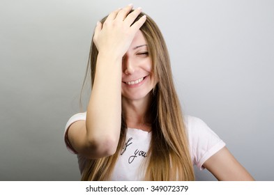 Woman Facepalm Images, Stock Photos & Vectors | Shutterstock
