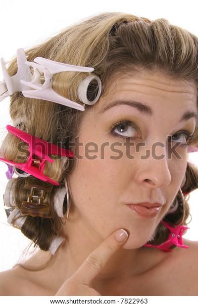 Cutie Pie Rollers Vertical Stock Photo (Edit Now) 7822963