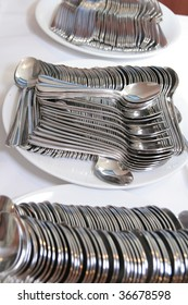 cutlery at catering
