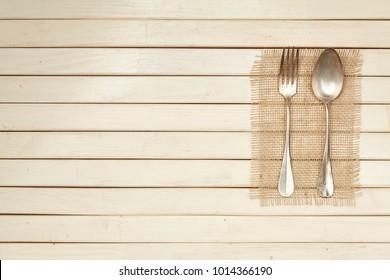 Cutlery. Dinner. Serving. Preparation. For your design. Metal