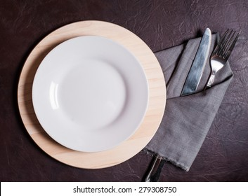 Cutlery Set with plate