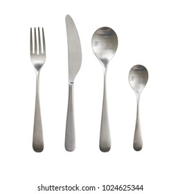 Cutlery. Set. Spoon fork knife. serving. For your design.
