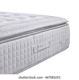cutout white mattress background