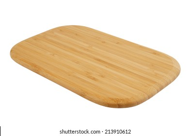 Cutting board isolated on white background