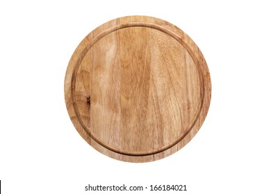 Cutting board on an isolated background