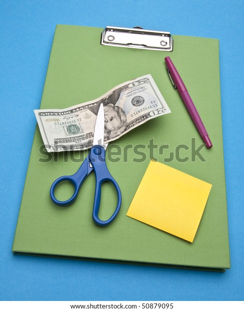 Cutting costs through buying less office supplies