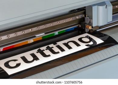 Cutting Plotter  Film Cutting Machine Images, Stock Photos