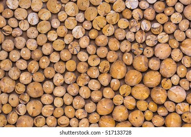Cutting wood background for decorate, industrial decoration concept
