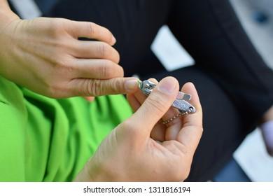 Cutting your fingernail
