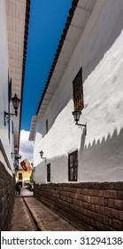 Cuzco, Peru: Loreto Street.