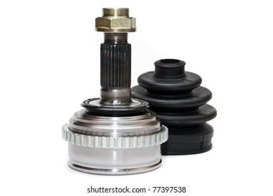 CV Joints. Constant Velocity Joints. Part wheel of the car.