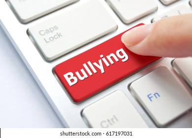 Cyber bullying / Social media witch hunting concept