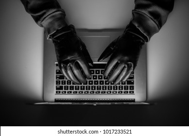 Cyber crime, a laptop hacker, writes codes to access unauthorized things, an illegal way, hacker, crime, cyber