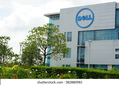 CYBERJAYA, MALAYSIA - FEBRUARY 28 2016:Dell Global Business Center in  Cyberjaya, Selangor, Malaysia