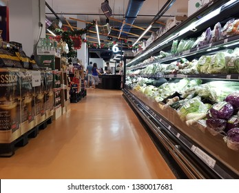 Cyberjaya, Malaysia. November 26, 2018. Village Grocer supermarket, a full-fledged chain of premium grocers across the Klang Valley, opened and operates at Tamarind Square since August 14, 2018
