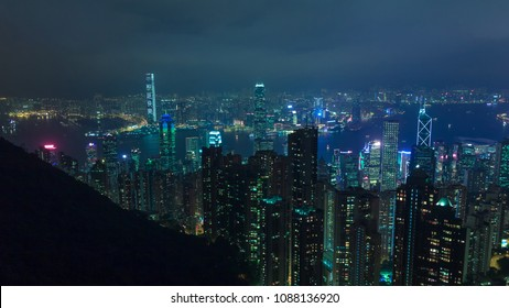 cyberpunk city hong kong at night skyscraper translation happy new year