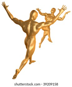 Cybrog Dance Gold