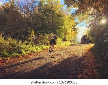 Cycle hill climb
