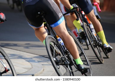 Cycle race (August, 26, 2019, Mutterstadt, Rhineland-Palatinate, Germany)