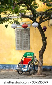 Cycle Rickshaw in the ancient town of Hoi An, Vietnam