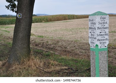 Cycle route in Saxony / Upper Lusatia