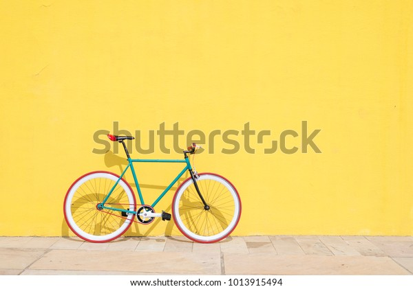 Cycling or commuting in city urban environment, ecological transportation concept.