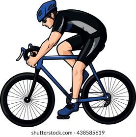 Cycling  illustration design