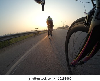 Cycling morning.