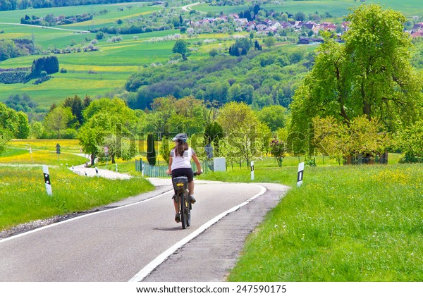 Cycling in nature