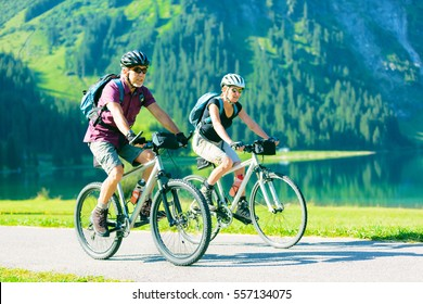 Cycling Seniors in Austria