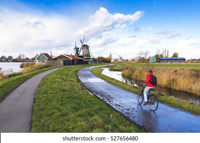 Cycling through the windmill villages of Amsterdam