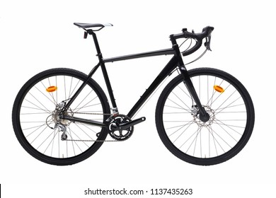 Cyclocross Road Bike in Black Color
