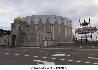 Cyclorama of Jerusalem, Sainte-Anne-de-Beaupre, Quebec, August 9, 2017
