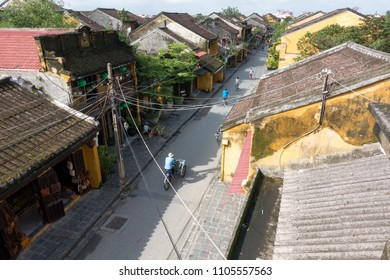 The cyclos in Hoi An old town. Stock photo of cyclo on street, cyclo is the favorite transportation in HoiAn. Hoi An ancient town is UNESCO world heritage, one of the most popular destinations in Asia