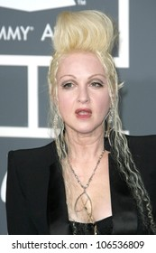 Cyndi Lauper at the 51st Annual GRAMMY Awards. Staples Center, Los Angeles, CA. 02-08-09
