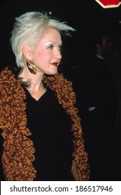 Cyndi Lauper at premiere of RUGRATS IN PARIS, 11/10/00 NY