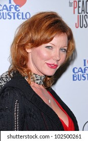 """Cynthia Basinet at the Artists for Peace and Justice """"Artists for Haiti"""" benefit, Track 16 Gallery, Santa Monica, CA. 01-28-10"""