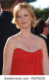 CYNTHIA NIXON at the 2002 Emmy Awards in Los Angeles. 22SEP2002.  Paul Smith / Featureflash