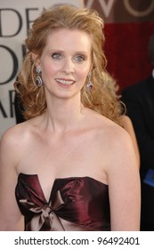 CYNTHIA NIXON at the 63rd Annual Golden Globe Awards at the Beverly Hilton Hotel. January 16, 2006  Beverly Hills, CA  2006 Paul Smith / Featureflash