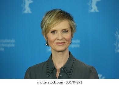 Cynthia Nixon attends the 'A Quiet Passion' photo call during the 66th Berlinale Film Festival Berlin at Grand Hyatt Hotel on February 14, 2016 in Berlin, Germany.