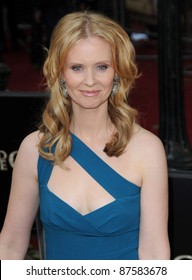 Cynthia Nixon attends the Sex and the City 2 UK premiere at the  Odeon Cinema in Leicester Square in London. May 27, 2010 Picture: Anne-Marie Michel / Featureflash