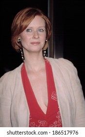 Cynthia Nixon at opening night of A DAY IN THE DEATH OF JOE EGG, NY 4/3/2003