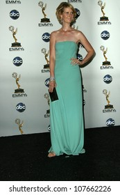 Cynthia Nixon  in the press room at the 60th Annual Primetime Emmy Awards. Nokia Theater, Los Angeles, CA. 09-21-08