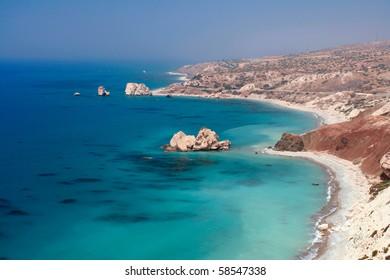 cyprus  : aphrodite's rock