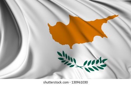 Cyprus flag HI-RES collection