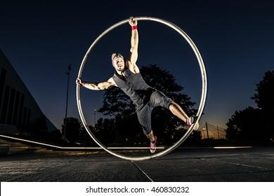 cyr wheel performance session