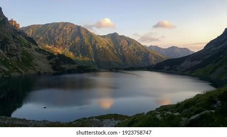 Czarny Staw pod Rysami in the Tatra National Park - Shutterstock ID 1923758747