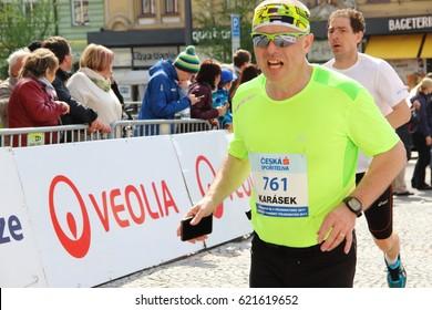 Czech championship in half marathon. Pardubice - 15.4.2017