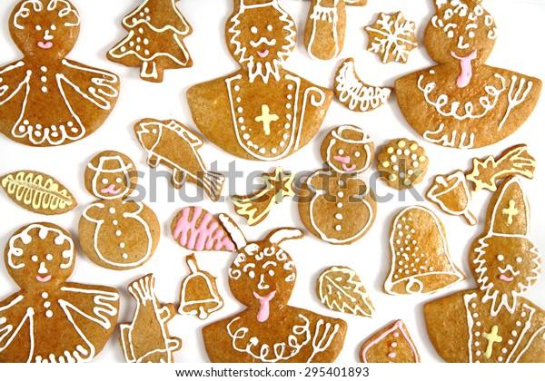 Czech Christmas Cookies Very Nice Holiday Stock Photo Edit Now